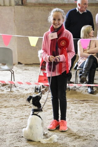 winner 1st junior handler